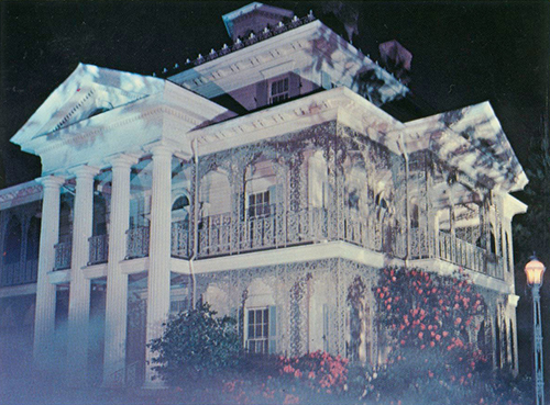 Haunted Mansion postcards, collection of the Walt Disney Family Foundation, © Disney.