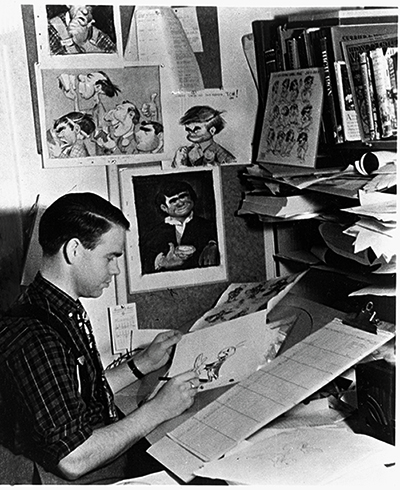 Ward Kimball; Courtesy of the Walt Disney Archives Photo Library, © Disney.