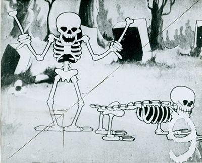 Silly Symphonies The Skeleton Dance, 1929; collection of the Walt Disney Family Foundation, © 1929 Disney.