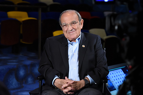 Marty Sklar at The Walt Disney Family Museum, 2016; photo by Frank Anzalone