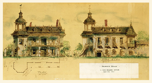 The Long Long Haunt Artists Of Walts Haunted Mansion