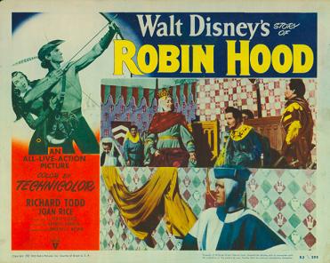The Oft Filmed Adventures Of Robin Hood The Walt Disney Family Museum