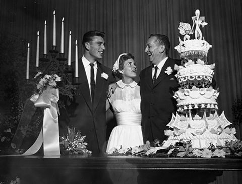 Who did walt disney marry