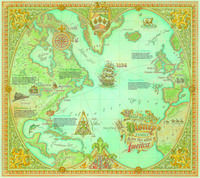 Map of Disney family ancestry
